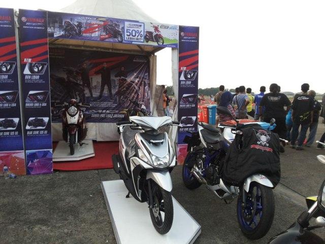 Display motor Yamaha HUT TNI-AU ke-70