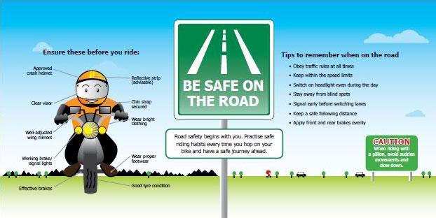 Safe Riding Habits