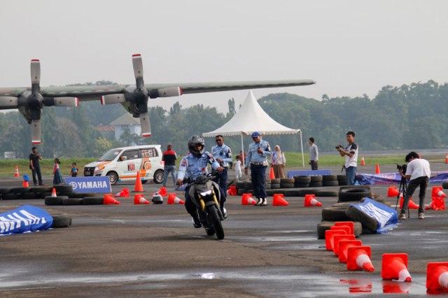 TNI-AU Test Ride Yamaha Xabre